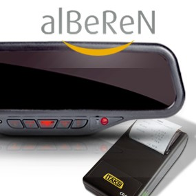 alberen taxi accessories supplied and fitted