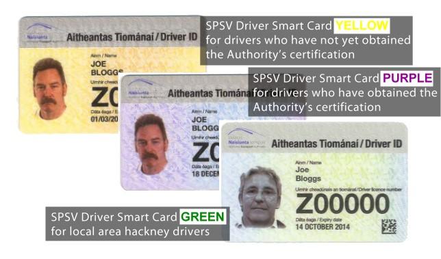 SPSV Driver Smart Card