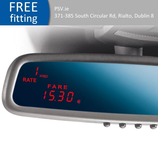 Mirror taxi meter Hale SPT-02