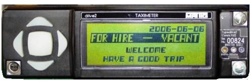 MATTIG Drive 2 LCD Taximeter