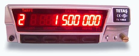 tetas dashboard meter
