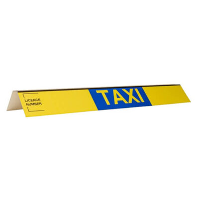 taxi roofsign panel for roofsign 3
