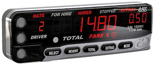 Cygnus taxi meter