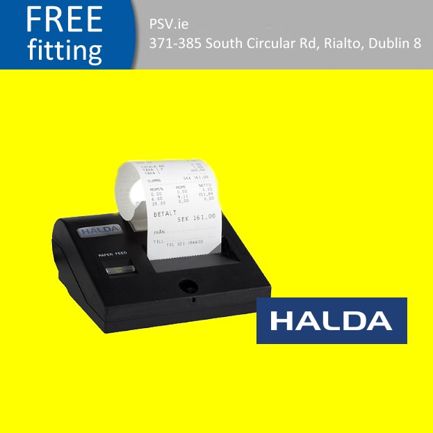 Halda fast thermal printer