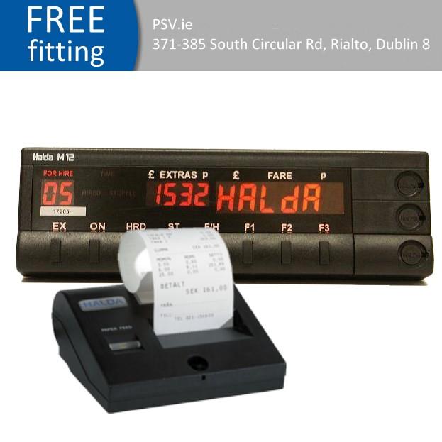 Halda meter and printer package deal