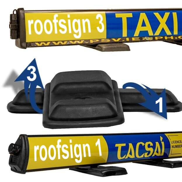 magnet covers for roofsign 1 or 3