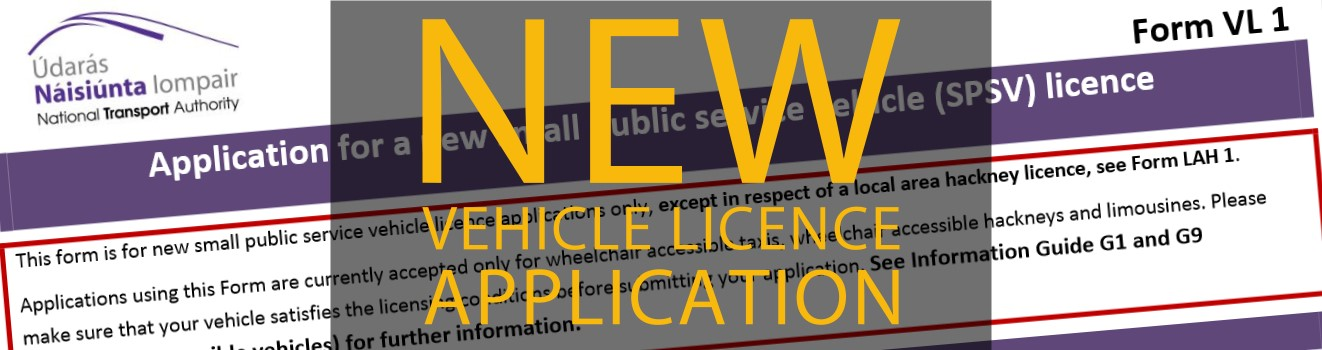 taxi licence application how to