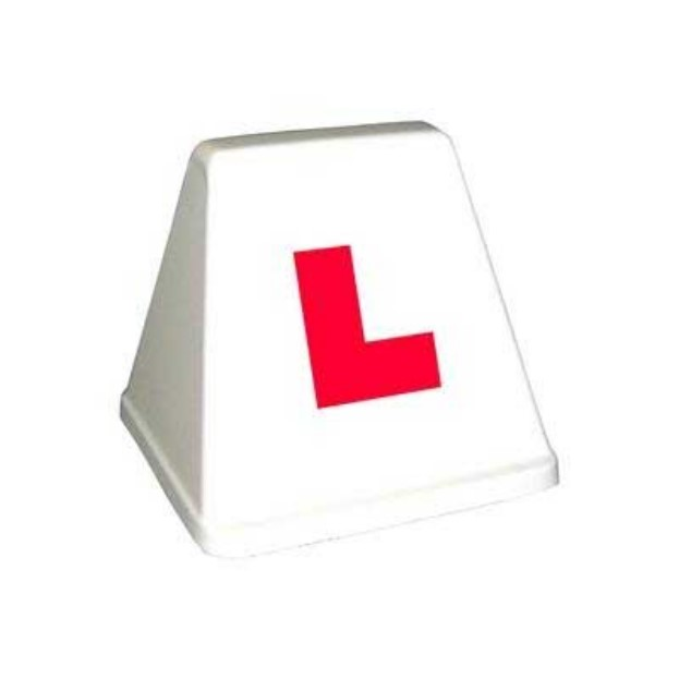 driving school roofsign model 12