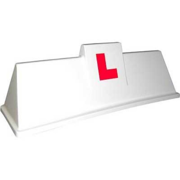 driving school roofsign model 4