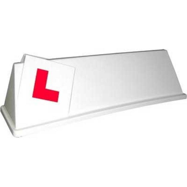 driving school roofsign model 7