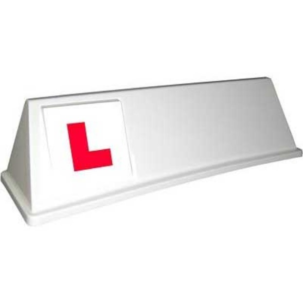driving school roofsign model 8