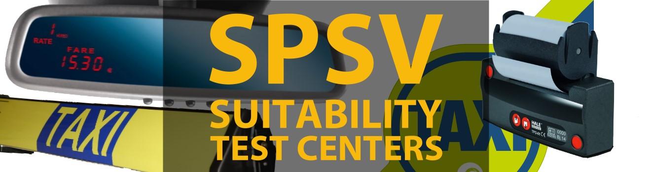SPSV taxi suitability test centres Ireland