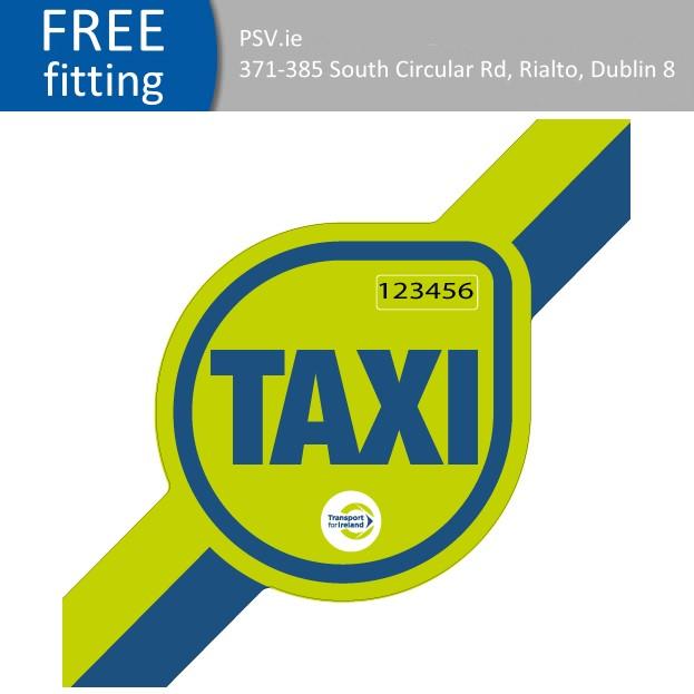 taxi door branding