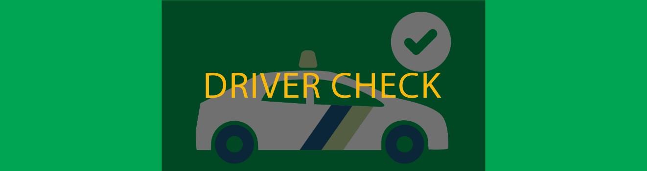 taxi driver check