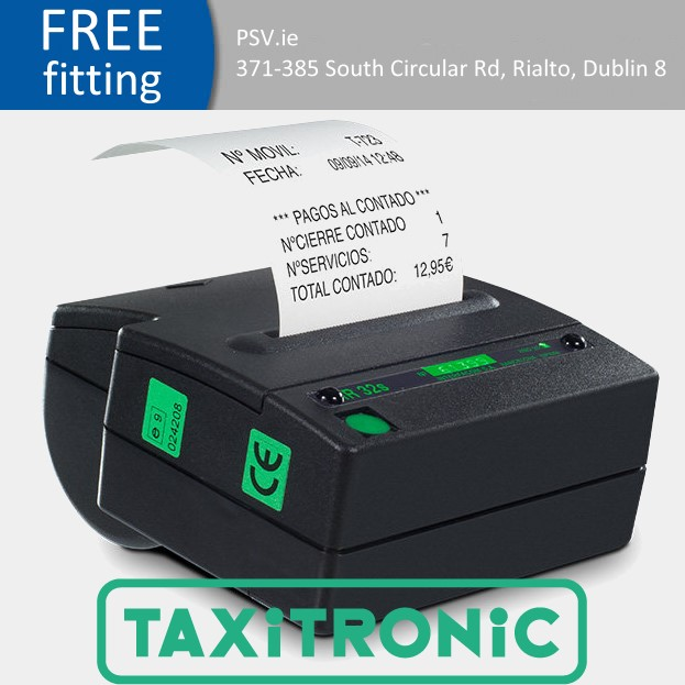 taxitronic IR 32 THERMAL TAXI PRINTER