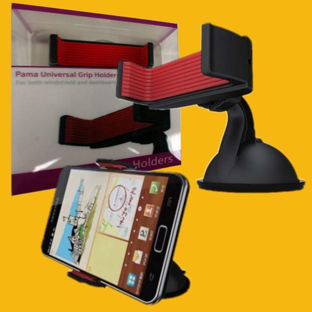windscreen and dashboard phone holder