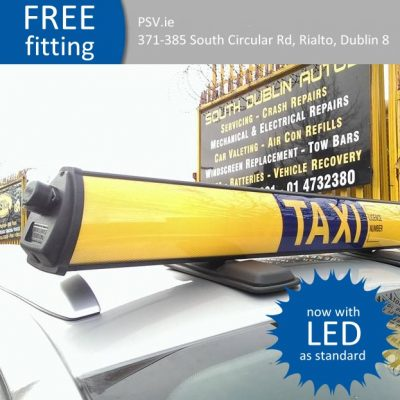 LED Taxi Roof Sign