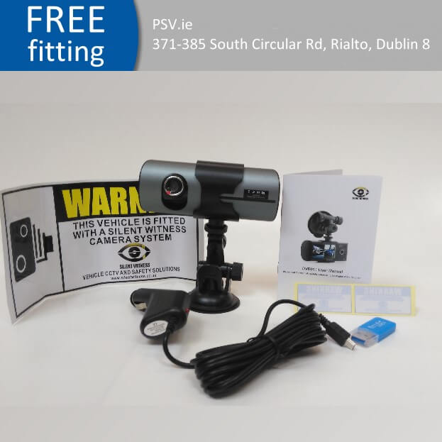 Silent Witness SW011 Dual In-Car Camera