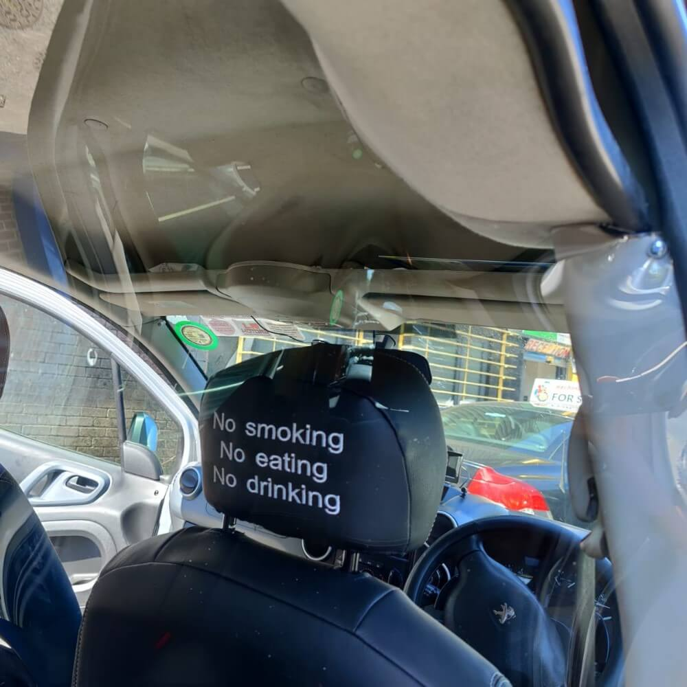 custom made taxi safety screens